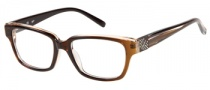 Candies C Luella Eyeglasses Eyeglasses - CRYBRN: Crystal Brown