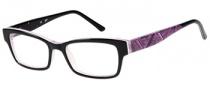 Candies C Gwen Eyeglasses Eyeglasses - BLK: Black Pink