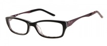 Candies C Cara Eyeglasses Eyeglasses - BLK: Black Brown