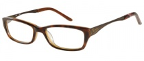 Candies C Cara Eyeglasses Eyeglasses - TORT: Brown Tortoise