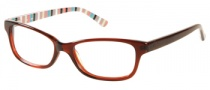 Candies C Lexie Eyeglasses Eyeglasses - BRN: Brown