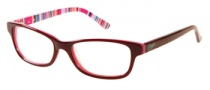 Candies C Lexie Eyeglasses Eyeglasses - BU: Burgundy