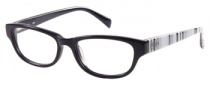 Candies C Logan Eyeglasses Eyeglasses - BLK: Black