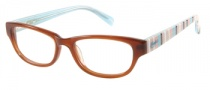 Candies C Logan Eyeglasses Eyeglasses - BRN: Brown