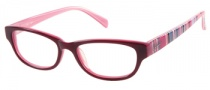 Candies C Logan Eyeglasses Eyeglasses - BU: Burgundy