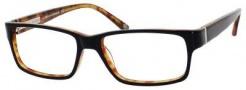 Banana Republic Barret Eyeglasses Eyeglasses - 0JRJ Black Amber Tortoise