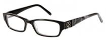 Candies C Perla Eyeglasses Eyeglasses - BLK: Black
