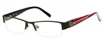 Candies C Leona Eyeglasses Eyeglasses - BLK: Matte Black