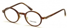 Tom Ford FT5254 Eyeglasses Eyeglasses - 052 Dark Havana