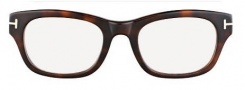 Tom Ford FT5252 Eyeglasses Eyeglasses - 052 Dark Havana