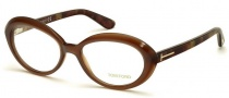 Tom Ford FT5251 Eyeglasses Eyeglasses - 050 Dark Brown