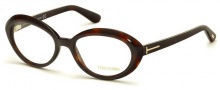 Tom Ford FT5251 Eyeglasses Eyeglasses - 052 Dark Havana