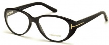 Tom Ford FT5245 Eyeglasses Eyeglasses - 001 Shiny Black