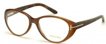 Tom Ford FT5245 Eyeglasses Eyeglasses - 050 Dark Brown