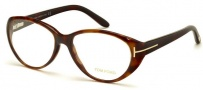 Tom Ford FT5245 Eyeglasses Eyeglasses - 052 Dark Havana