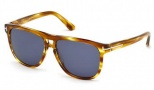 Tom Ford FT0288 Lennon Sunglasses Sunglasses - 47V Light Brown / Blue