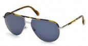 Tom Ford FT0285 Cole Sunglasses Sunglasses - 53V Blonde Havana / Blue