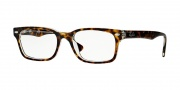 Ray-Ban RX5286 Eyeglasses Eyeglasses - 5082 Top Havana on Transparent