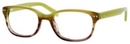 Banana Republic Danica Eyeglasses Eyeglasses - 0DL3 Olive Purple Fade
