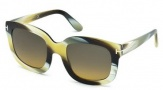 Tom Ford FT0279 Christophe Sunglasses Sunglasses - 62F Brown Horn / Gradient Brown