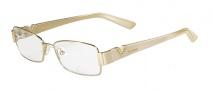 Valentino V2102R Eyeglasses Eyeglasses - 717 Gold