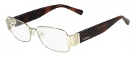Valentino V2104R Eyeglasses Eyeglasses - 718 Light Gold