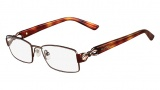 Valentino V2107 Eyeglasses Eyeglasses - 210 Brown