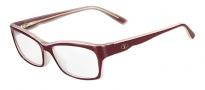 Valentino V2600 Eyeglasses Eyeglasses - 605 Burgundy / Coral