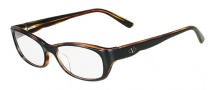 Valentino V2601 Eyeglasses  Eyeglasses - 003 Black / Havana