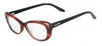 Valentino V2604 Eyeglasses Eyeglasses - 259 Striped Cognac