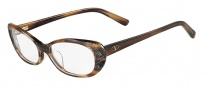 Valentino V2609 Eyeglasses Eyeglasses - 261 Beige Horn