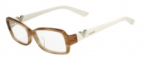 Valentino V2612R Eyeglasses Eyeglasses - 772 Striped Honey