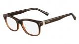 Valentino V2636 Eyeglasses Eyeglasses - 216 Gradient Brown
