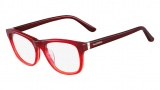 Valentino V2641 Eyeglasses Eyeglasses - 618 Striped Red