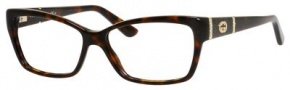 Gucci GG 3559 Eyeglasses Eyeglasses - 0TVD-Dark Havana