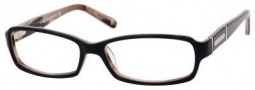 Banana Republic Shana Eyeglasses Eyeglasses - 0FG6 Black Pink Horn