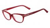 Valentino V2646R Eyeglasses Eyeglasses - 613 Red
