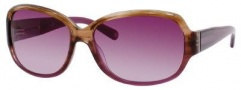 Banana Republic Diane/s Sunglasses Sunglasses - 0FK2 Plum Striated (RP plum gradient lens)