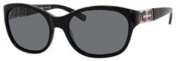 Banana Republic Ellie/p/s Sunglasses Sunglasses - 807P Black (RA gray polarized lens)