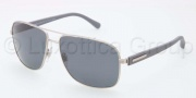 Dolce & Gabbana DG2122 Sunglasses Sunglasses - 121481 Matte Silver / Polarized Gray
