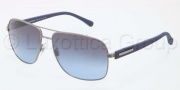 Dolce & Gabbana DG2122 Sunglasses Sunglasses - 11898F Gunmetal Grey / Blue Gradient