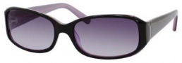 Banana Republic Margaret/S Sunglasses Sunglasses - Black Lavender