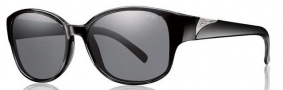 Smith Optics Lyric Sunglasses Sunglasses - Black / Polarized Gray