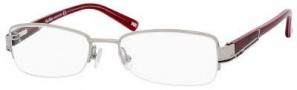MaxMara Max Mara 1085/U Eyeglasses Eyeglasses - Ruthenium Burgundy Pink