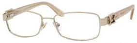 MaxMara Max Mara 1098/U Eyeglasses Eyeglasses - Light Gold Pearl