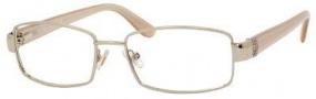 MaxMara Max Mara 1100/U Eyeglasses Eyeglasses - Gold Beige Pink