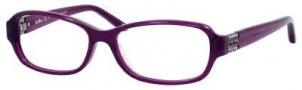 MaxMara Max Mara 1129 Eyeglasses Eyeglasses - Transparent Violet