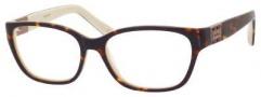 MaxMara Max Mara 1136 Eyeglasses Eyeglasses - Havana Cream
