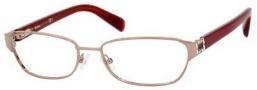 MaxMara Max Mara 1150 Eyeglasses Eyeglasses - Gold Red