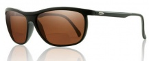 Smith Optics Lochsa Sunglasses Sunglasses - Black / +2.50 Polarized Copper